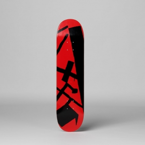 Andy Hope 1930 - Black and Red, the skateroom