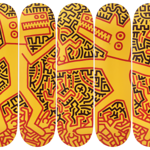 Keith Haring - Monsters, the skateroom