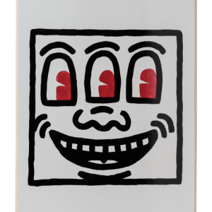 Keith Haring - Smile, the skateroom