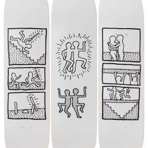 Keith Haring - Untitled 1981, the skateroom